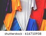 color shirt | Shutterstock . vector #616710938