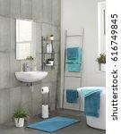 modern contemporary luxury... | Shutterstock . vector #616749845