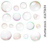 Colorful Natural Soap Bubbles...