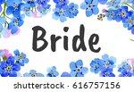 wedding invitation diy template ... | Shutterstock . vector #616757156