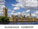 Houses Of Parliament And The...