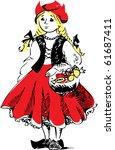 red hat   Shutterstock .eps vector #61687411