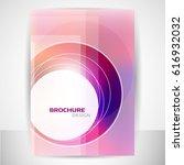 brochure cover design | Shutterstock .eps vector #616932032