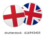News Concept  England Flag...