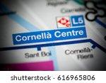 cornella centre station.... | Shutterstock . vector #616965806
