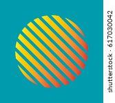 circle texture lines gradation   Shutterstock .eps vector #617030042