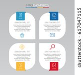 info graphic template for... | Shutterstock .eps vector #617047115
