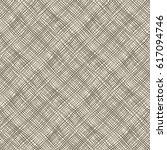 seamless shabby diagonal stripe ... | Shutterstock .eps vector #617094746