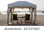 Luxurious Gazebo On The Beach