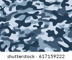 texture military camouflage... | Shutterstock .eps vector #617159222
