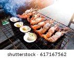 Grilled Seafood  Shrimps ...