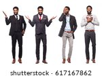 group of full body people | Shutterstock . vector #617167862