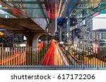 pathumwan intersection  busy... | Shutterstock . vector #617172206