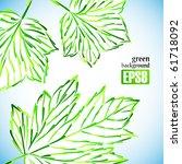 green background  eps8 | Shutterstock .eps vector #61718092