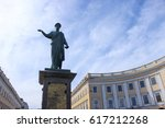 monument to duke de richelieu... | Shutterstock . vector #617212268