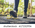 in selective focus of woman to...   Shutterstock . vector #617232956