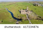 aerial view of an irish public ... | Shutterstock . vector #617234876