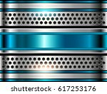 silver metal background  shiny... | Shutterstock .eps vector #617253176