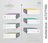 timeline infographics design... | Shutterstock .eps vector #617277482