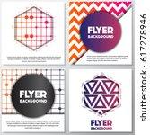 fresh flyer style background... | Shutterstock .eps vector #617278946