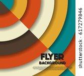 fresh flyer style background... | Shutterstock .eps vector #617279846
