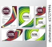 fresh flyer style background... | Shutterstock .eps vector #617279996
