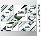 fresh flyer style background... | Shutterstock .eps vector #617280746