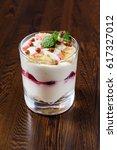 berry dessert | Shutterstock . vector #617327012