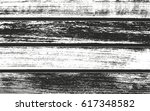 distressed overlay wooden... | Shutterstock .eps vector #617348582