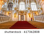 the main staircase of the... | Shutterstock . vector #617362808