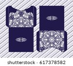 vector envelopes for wedding... | Shutterstock .eps vector #617378582