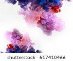 color smoke underwater....