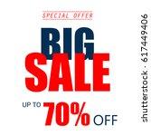 super discount  sale ... | Shutterstock .eps vector #617449406