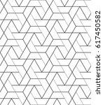 seamless geometric pattern.... | Shutterstock .eps vector #617450582