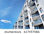 modern  luxury apartment... | Shutterstock . vector #617457086