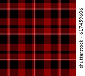 plaid tartan repeatable... | Shutterstock . vector #617459606