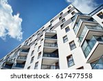 modern  luxury apartment... | Shutterstock . vector #617477558