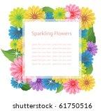 Фото рамки с полевыми цветами