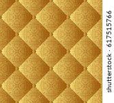 seamless pattern or golden...   Shutterstock .eps vector #617515766