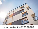 modern  luxury apartment...   Shutterstock . vector #617520782