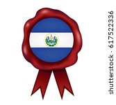 el salvador wax seal | Shutterstock .eps vector #617522336