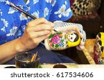 Matryoshka Doll Painting Craft...