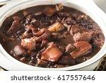 brazilian feijoada food. | Shutterstock . vector #617557646
