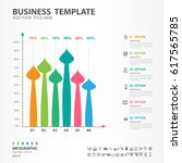 infographics elements diagram... | Shutterstock .eps vector #617565785