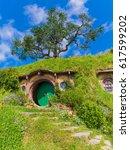 matamata  30 jan 2017  hobbit... | Shutterstock . vector #617599202
