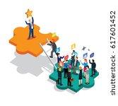 business success isometric   Shutterstock .eps vector #617601452
