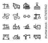 lift icons set. set of 16 lift...   Shutterstock .eps vector #617650562