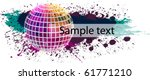 grunge party banner | Shutterstock .eps vector #61771210