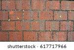 floor brick texture material... | Shutterstock . vector #617717966