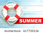 Summer And Lifebuoy With...
